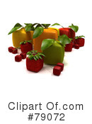 Royalty-Free (RF) Fruit Clipart Illustration #79072
