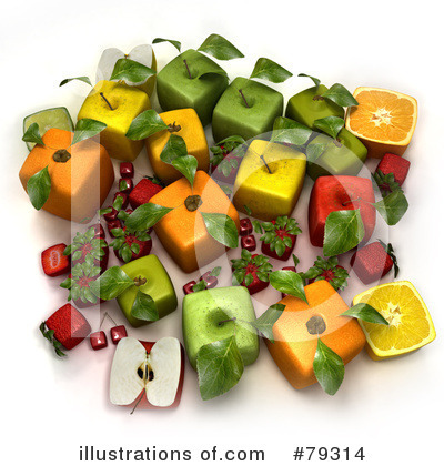 Oranges Clipart #79314 by Frank Boston