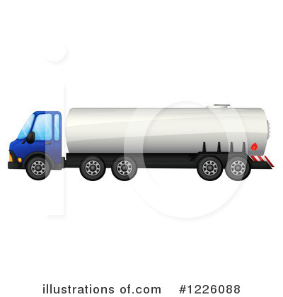 Big Rig Clipart #1226088 by Graphics RF