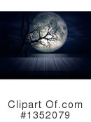 Full Moon Clipart #1352079 by KJ Pargeter