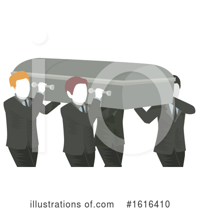 Funeral Clipart #1616410 by BNP Design Studio
