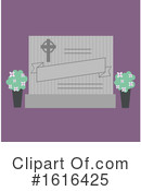 Funeral Clipart #1616425 by BNP Design Studio