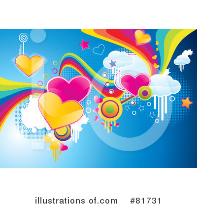 Royalty-Free (RF) Funky Clipart Illustration by MilsiArt - Stock Sample #81731