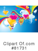 Royalty-Free (RF) Funky Clipart Illustration #81731