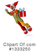 Funky Clown Clipart #1333250 by Julos