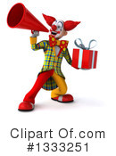 Funky Clown Clipart #1333251 by Julos