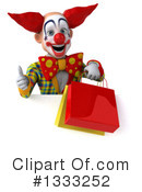 Funky Clown Clipart #1333252 by Julos