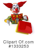 Funky Clown Clipart #1333253 by Julos