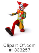 Funky Clown Clipart #1333257 by Julos