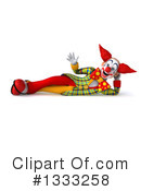 Funky Clown Clipart #1333258 by Julos