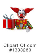Funky Clown Clipart #1333260 by Julos
