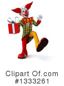 Funky Clown Clipart #1333261 by Julos