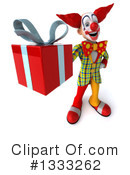 Funky Clown Clipart #1333262 by Julos