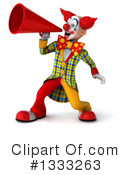 Funky Clown Clipart #1333263 by Julos