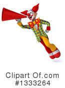 Funky Clown Clipart #1333264 by Julos
