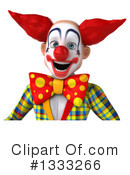 Funky Clown Clipart #1333266 by Julos