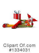Funky Clown Clipart #1334031 by Julos