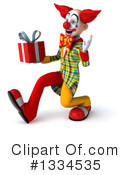 Funky Clown Clipart #1334535 by Julos