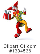 Funky Clown Clipart #1334536 by Julos