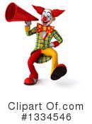 Funky Clown Clipart #1334546 by Julos
