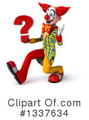 Funky Clown Clipart #1337634 by Julos