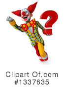 Funky Clown Clipart #1337635 by Julos