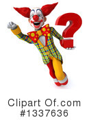 Funky Clown Clipart #1337636 by Julos