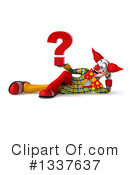 Funky Clown Clipart #1337637 by Julos