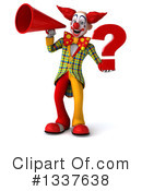 Funky Clown Clipart #1337638 by Julos