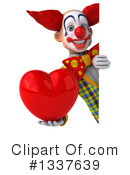Funky Clown Clipart #1337639 by Julos