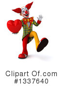Funky Clown Clipart #1337640 by Julos