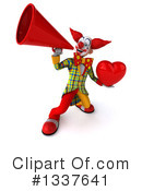 Funky Clown Clipart #1337641 by Julos