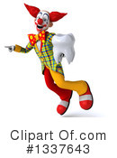 Funky Clown Clipart #1337643 by Julos