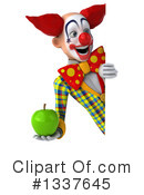 Funky Clown Clipart #1337645 by Julos