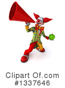 Funky Clown Clipart #1337646 by Julos