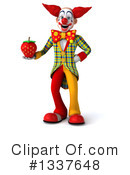 Funky Clown Clipart #1337648 by Julos