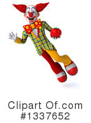 Funky Clown Clipart #1337652 by Julos