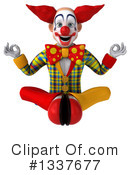 Funky Clown Clipart #1337677 by Julos