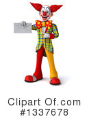 Funky Clown Clipart #1337678 by Julos