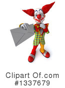 Funky Clown Clipart #1337679 by Julos