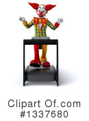 Funky Clown Clipart #1337680 by Julos