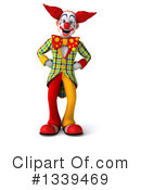 Funky Clown Clipart #1339469 by Julos