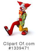 Funky Clown Clipart #1339471 by Julos
