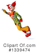 Funky Clown Clipart #1339474 by Julos