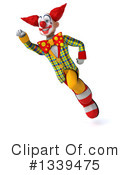 Funky Clown Clipart #1339475 by Julos