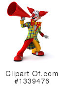 Funky Clown Clipart #1339476 by Julos