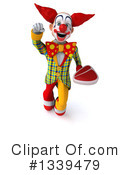 Funky Clown Clipart #1339479 by Julos