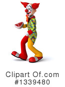 Funky Clown Clipart #1339480 by Julos