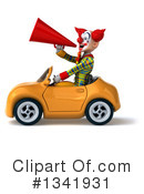 Funky Clown Clipart #1341931 by Julos