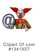 Funky Clown Clipart #1341937 by Julos